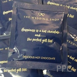 HOT CHOCOLATE SACHETS